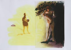 Beach Series 4, Large Aquatint by Eric Fischl