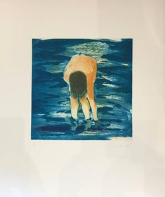 Untitled  (Boy in blue water)