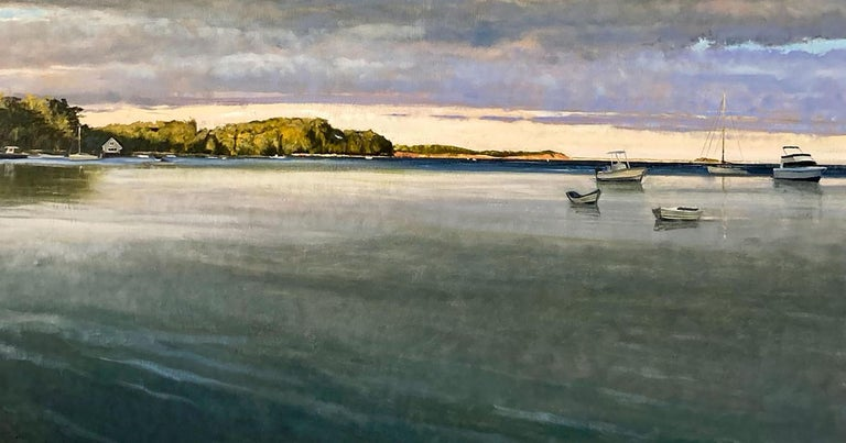 Pleasant Bay - Realist Painting by Eric Forstmann