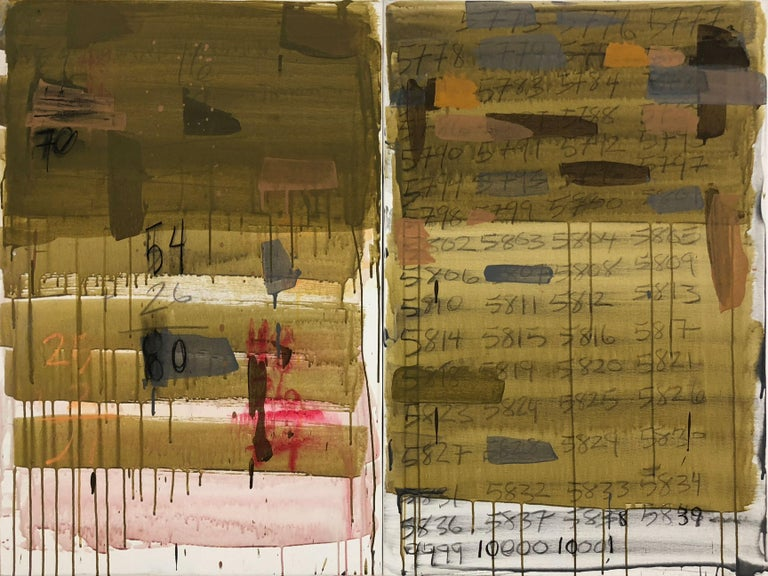Eric Friedmann Abstract Painting - The Calendar