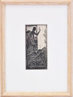 Eric GIll, Dilecti Mei Pulsantis, Wood engraving, 1930