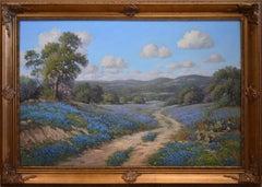 """Hill Country Springtime"" Texas Bluebonnets"