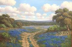 """Texas Blue"" Bluebonnet Texas Hill Country"