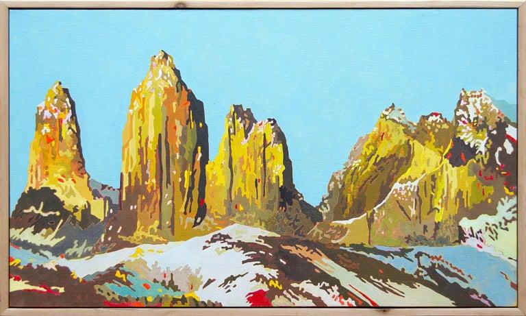 Untitled - Painting by Eric Jon Holswade