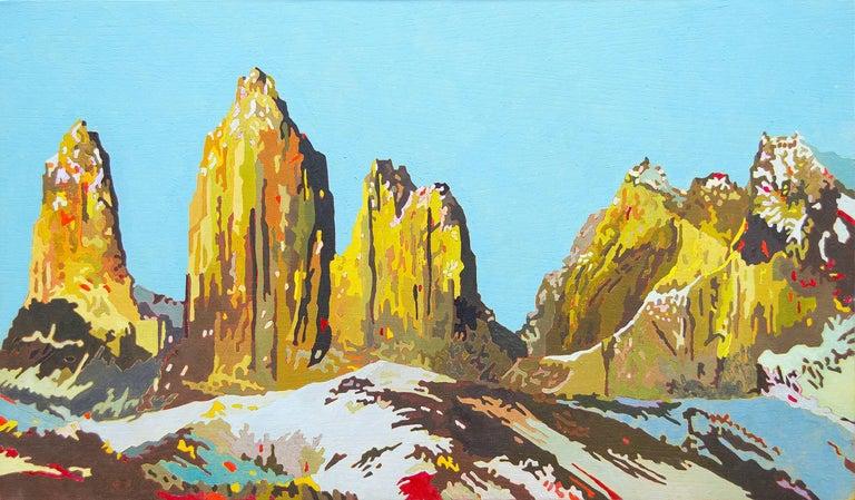 Eric Jon Holswade Landscape Painting - Untitled