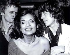 Bianca Jagger's Birthday Party at Studio 54 Fine Art Print