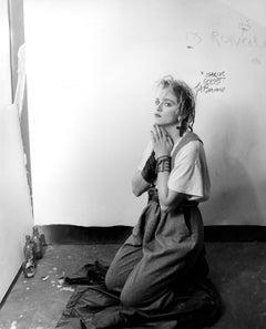 Madonna: Prayer Globe Photos Fine Art Print