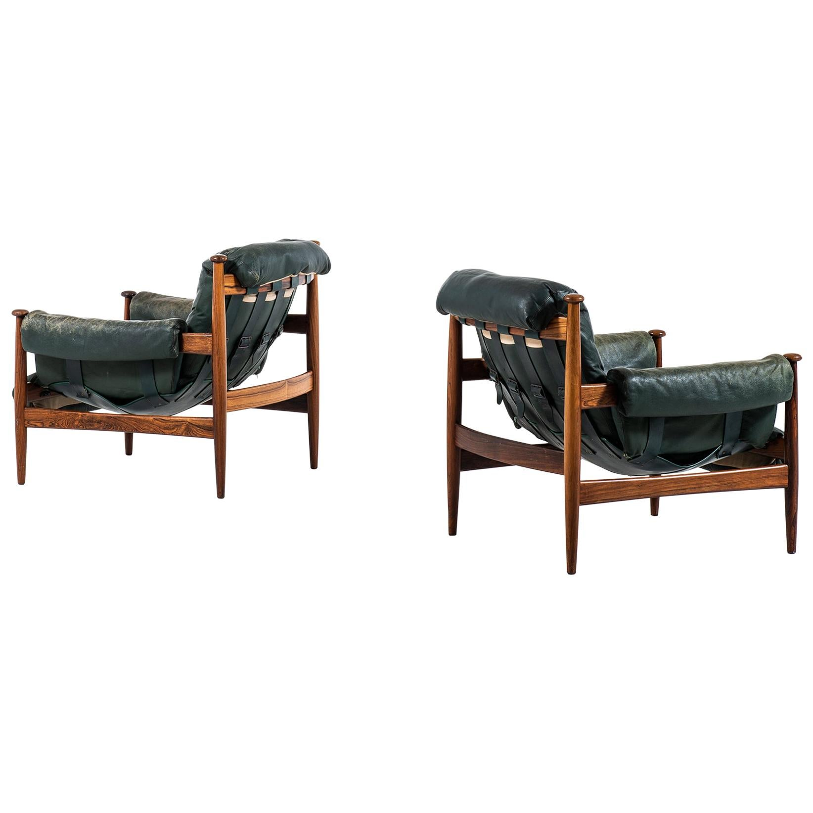 Eric Merthen Easy Chairs Model Amiral Produced by Ire Möbler in Sweden