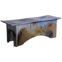 Eric O'Leary Ceramic Bench