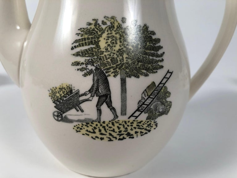 Eric Ravilious Garden Series Coffee Service for Wedgwood 11
