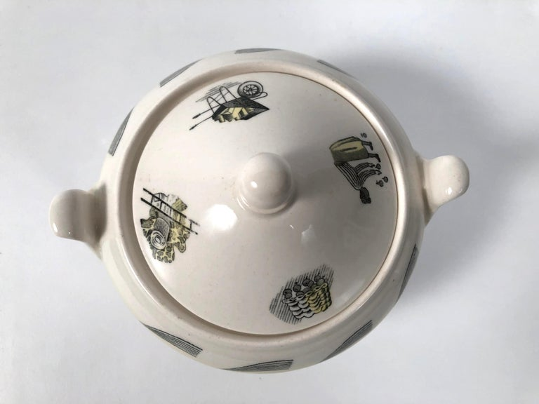 Eric Ravilious Garden Series Coffee Service for Wedgwood 14
