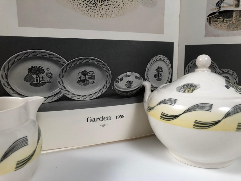 Eric Ravilious Garden Series Coffee Service for Wedgwood 18