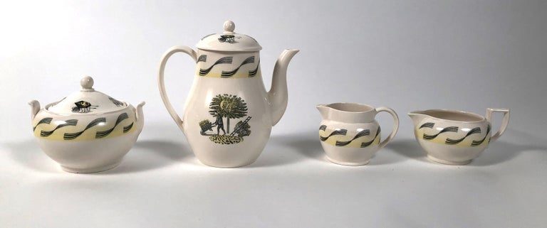Eric Ravilious Garden Series Coffee Service for Wedgwood 2