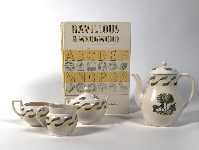 Eric Ravilious Garden Series Coffee Service for Wedgwood 3