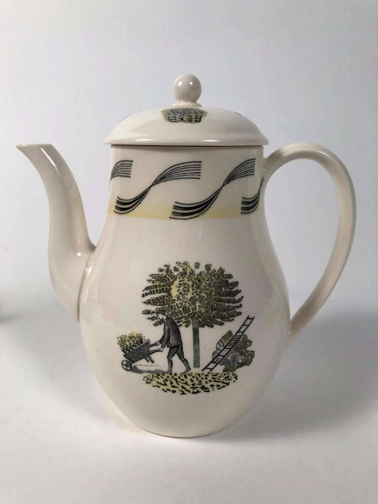 Eric Ravilious Garden Series Coffee Service for Wedgwood 6