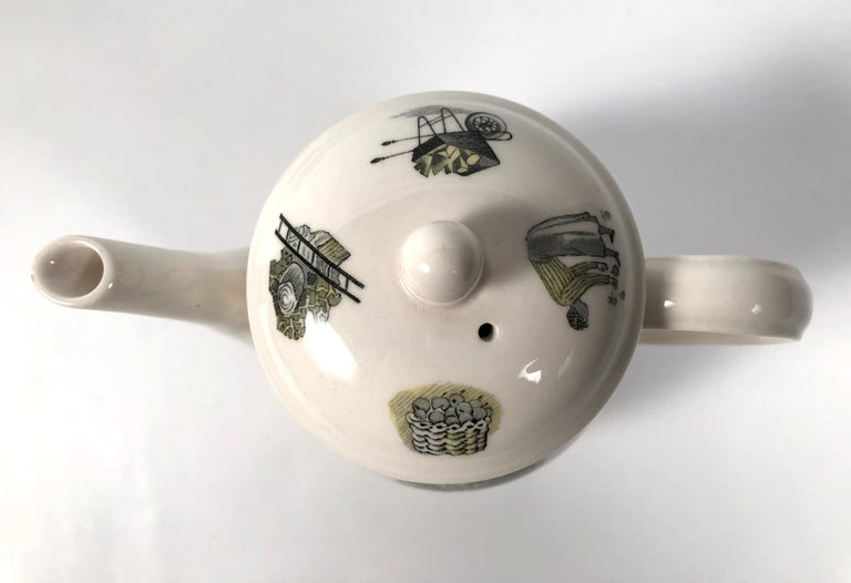 Eric Ravilious Garden Series Coffee Service for Wedgwood 8