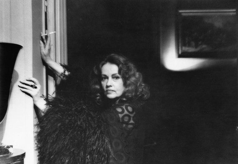 Erica Lennard Black and White Photograph - Jeanne Moreau