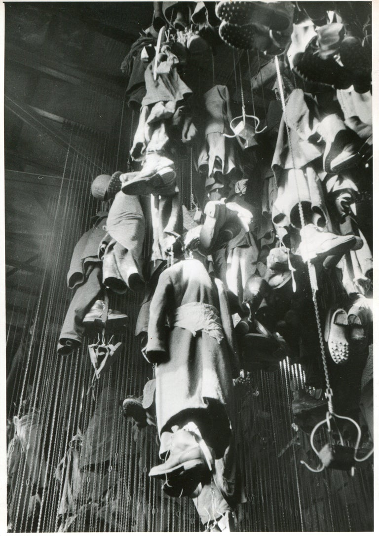 Silver Gelatine Print by Erich Andres, 1947. Andres was born 1905 in Germany and passed away 1992. He started his career as a photographer in 1920. He was one of the first photographers, who used a Leica. His images today are displayed in several