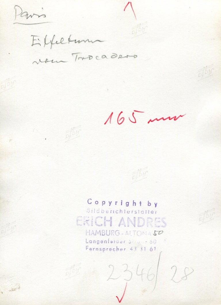 Eifeltower, Paris, 1955 For Sale 3