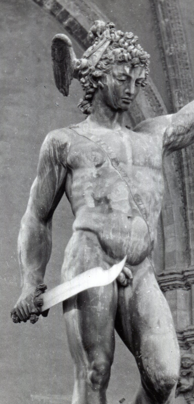 Florence - Perseus with the head of Medusa Italy 1953 For Sale 2