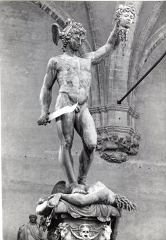 Florence - Perseus with the head of Medusa Italy 1953