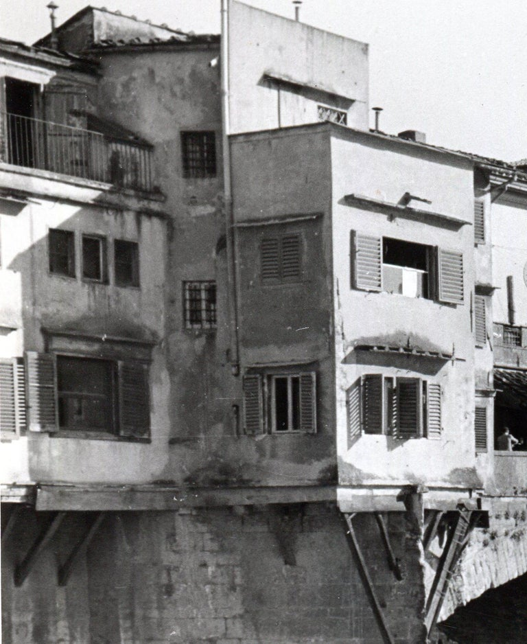 Florence - Ponte Vecchio Italy 1954 For Sale 1