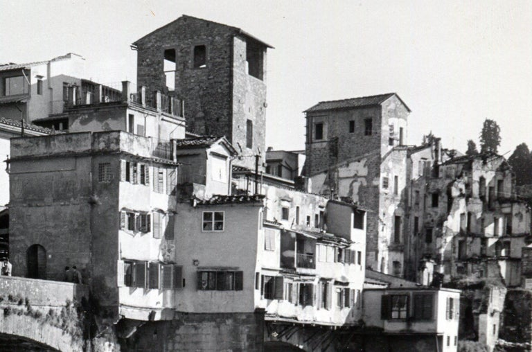 Florence - Ponte Vecchio Italy 1954 For Sale 2