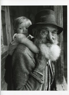 Grandfather with child, Germany 1935