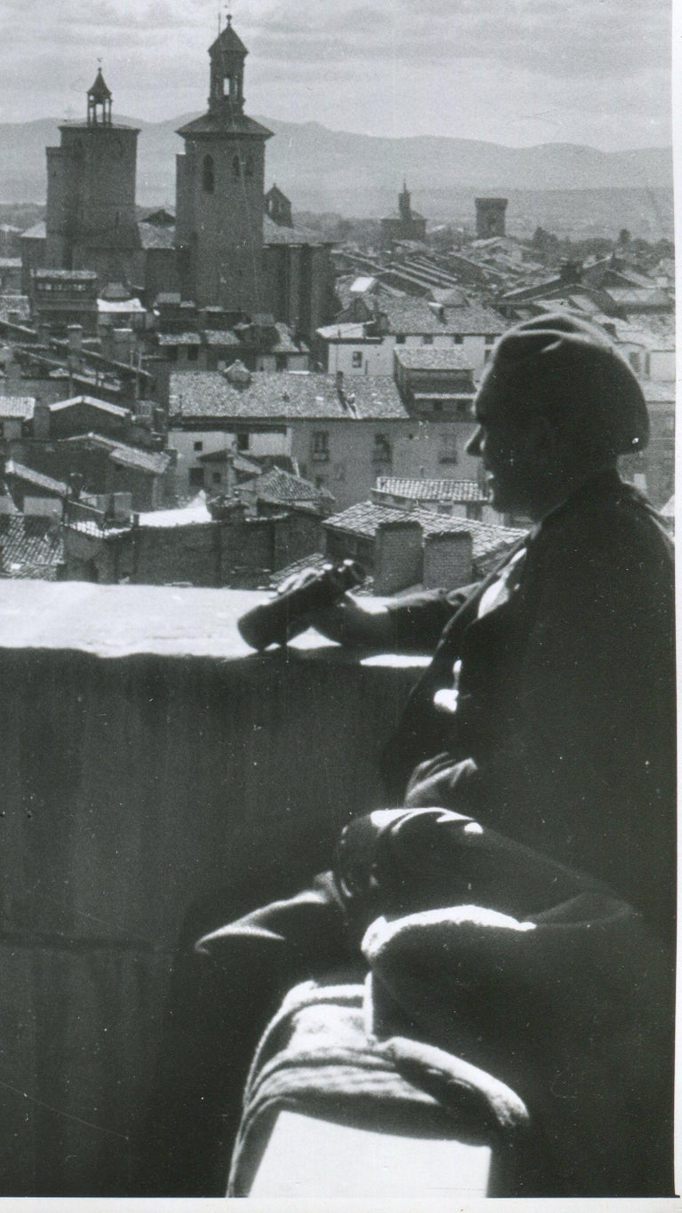 Pamplona, Spain, 1936, Civil War, View from a tower For Sale 1