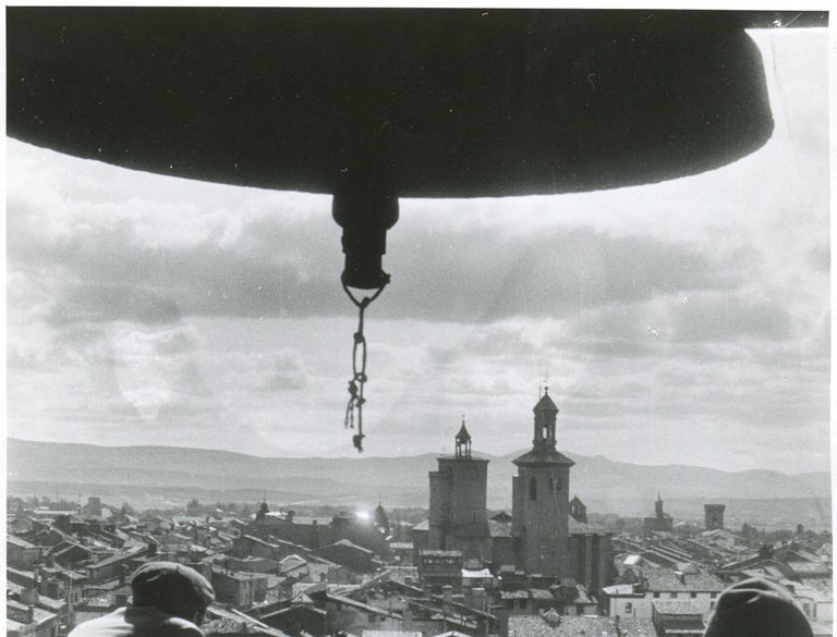 Pamplona, Spain, 1936, Civil War, View from a tower For Sale 2