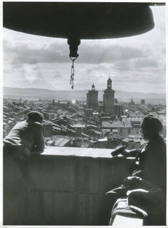 Pamplona, Spain, 1936, Civil War, View from a tower
