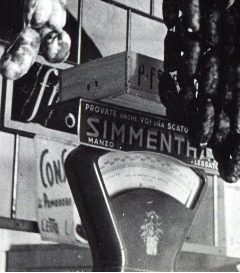 Rome - Butchers shop 1954 For Sale 2