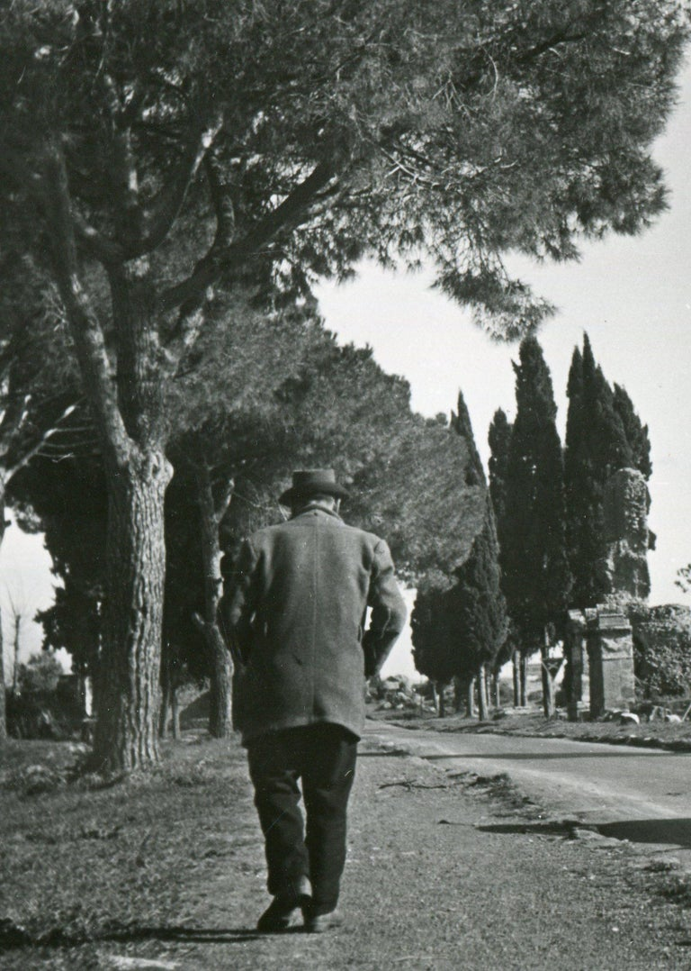 Rome - Via Appia 1954 - Photograph by Erich Andres