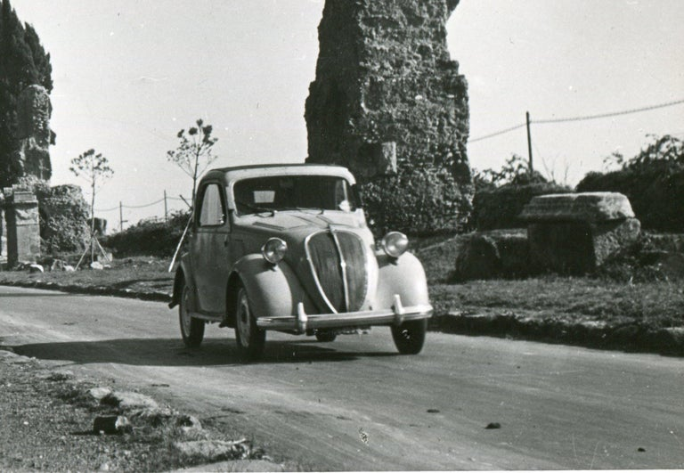Rome - Via Appia 1954 - Modern Photograph by Erich Andres