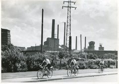 Ruhr area, Essen, Germany 1952