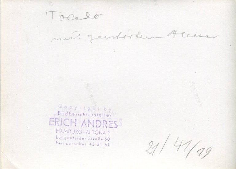 Toledo, Spain, 1936, Alcazar in ruins, Civil War - Portfolio of 5 Prints For Sale 1
