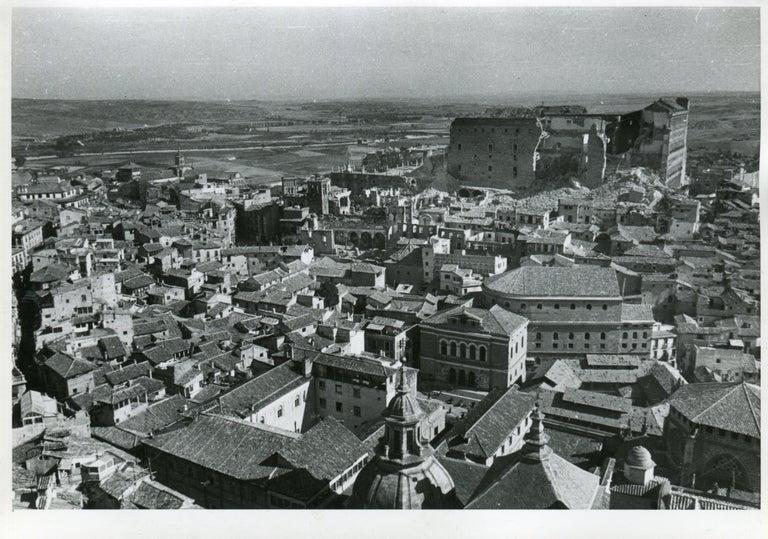 Toledo, Spain, 1936, Alcazar in ruins, Civil War - Portfolio of 5 Prints For Sale 2