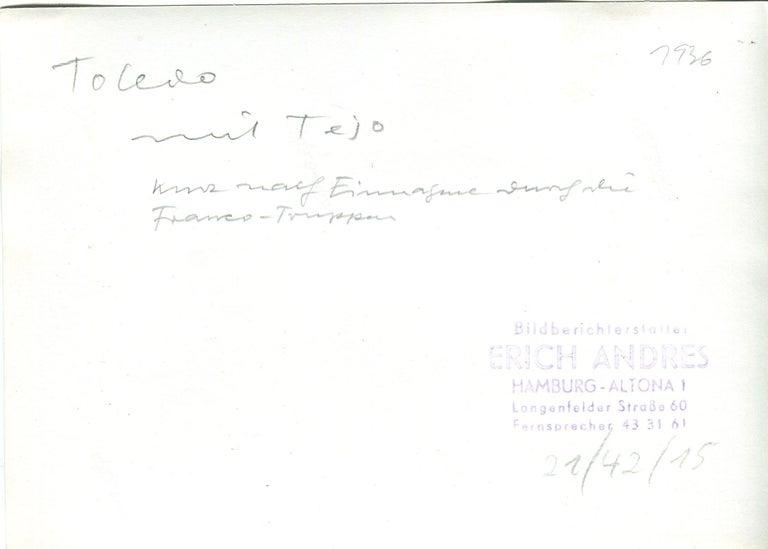 Toledo, Spain, 1936, Alcazar in ruins, Civil War - Portfolio of 5 Prints For Sale 7