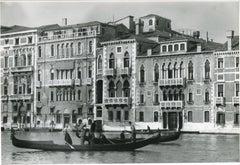 Venice - Gondola  1954