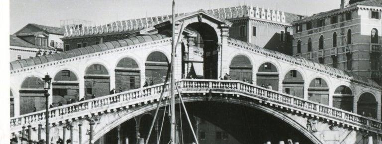 Venice - Rialto Bridge 1954 For Sale 1