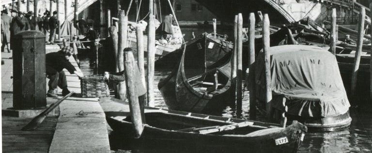 Venice - Rialto Bridge 1954 For Sale 2