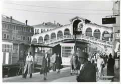Venice - Rialto Bridge 1954