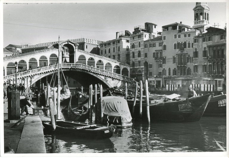 Silver Gelatine Print by Erich Andres, 1954. Andres was born 1905 in Germany and passed away 1992. He started his career as a photographer in 1920. He was one of the first photographers, who used a Leica. His images today are displayed in several