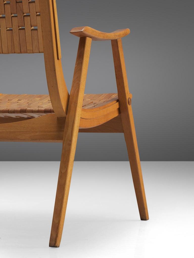 Erich Dieckmann Bauhaus Armchair In Good Condition For Sale In Waalwijk, NL