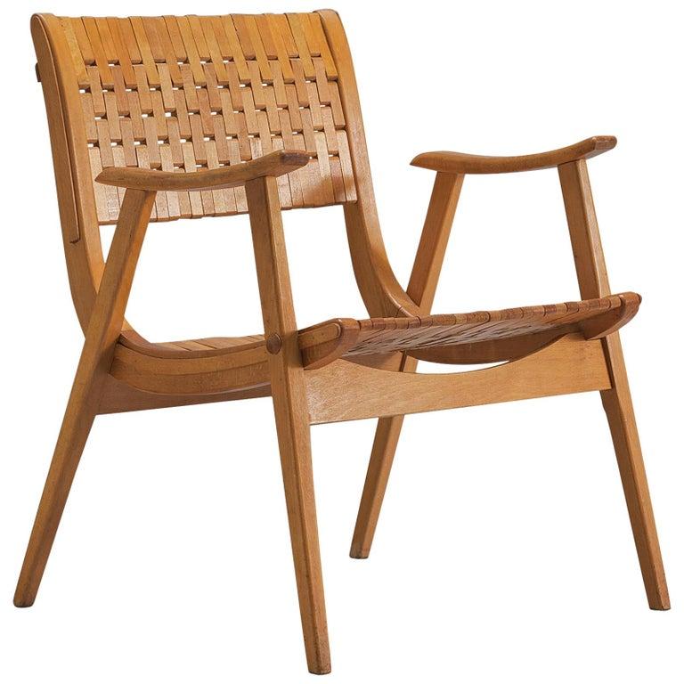 Erich Dieckmann Bauhaus Armchair For Sale