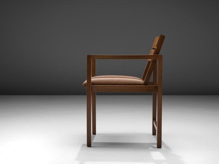German Erich Dieckmann Bauhaus Armchair of Walnut, 1930s For Sale