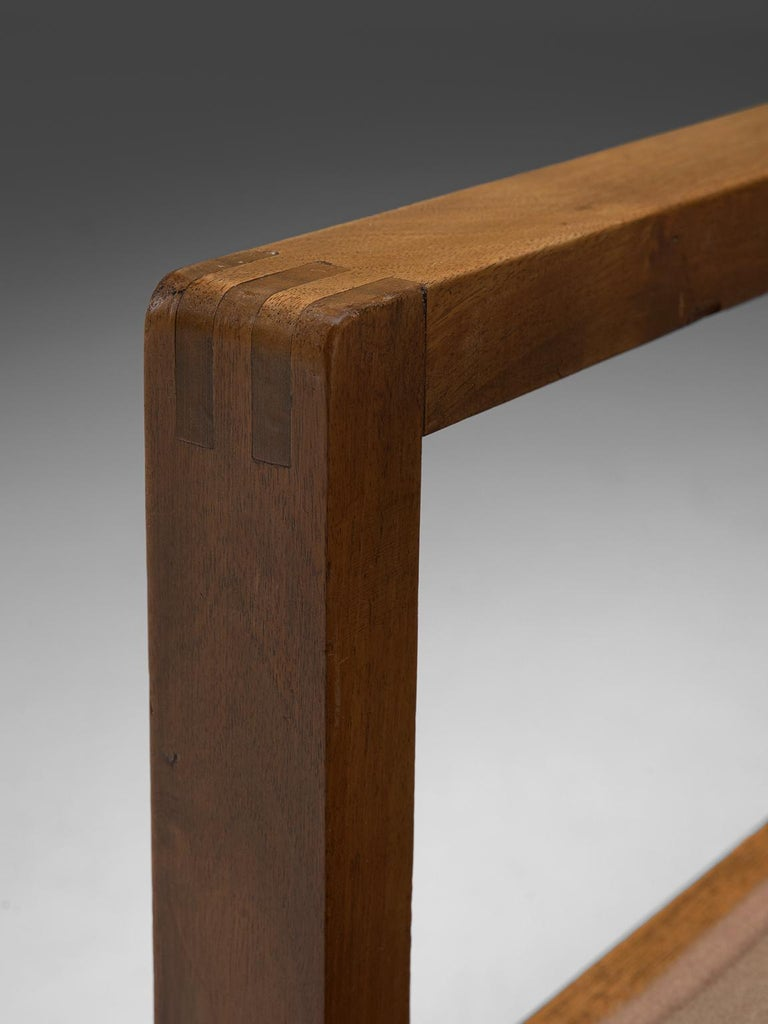 Erich Dieckmann Bauhaus Armchair of Walnut, 1930s For Sale 1