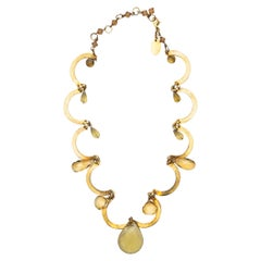 Erickson Beamon Gold-Tone Crystal Necklace