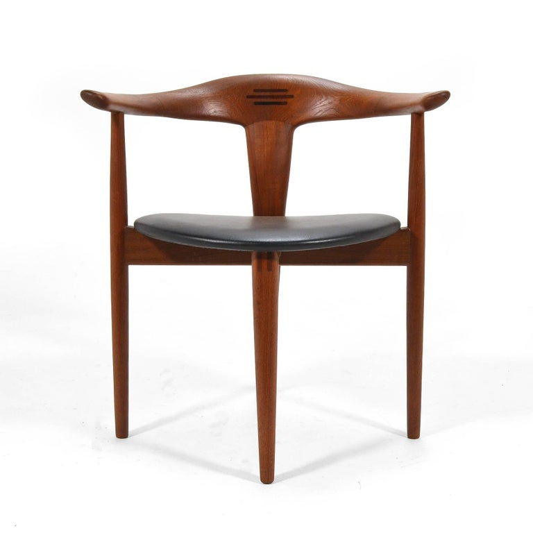 Danish Erik Andersen and Palle Pedersen Pair of Rare Easy Chairs For Sale