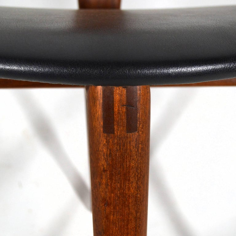 Mid-20th Century Erik Andersen and Palle Pedersen Pair of Rare Easy Chairs For Sale